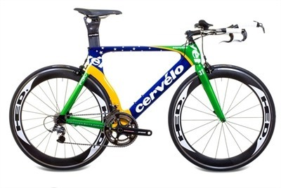 2011 Cervelo P3 Brazil Limited Edition Frameset