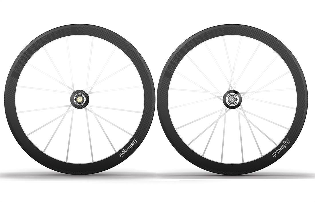 2015 Lightweight Meilenstein Weiss Edition Clincher Wheelset