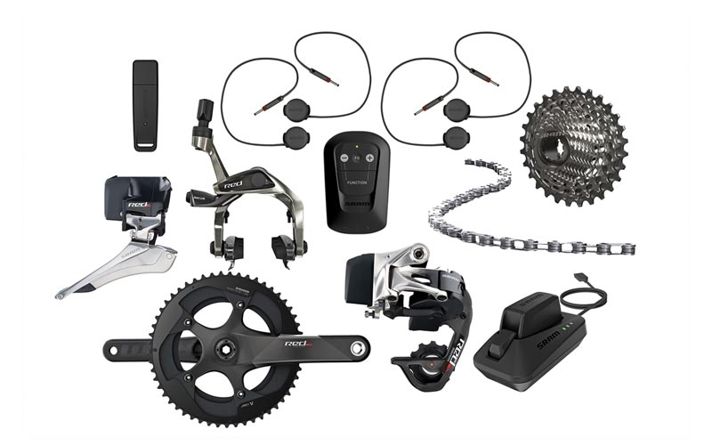 SRAM Red eTap TRIATHLON Groupset