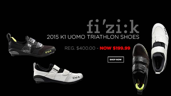 2015 FIZIK K1 UOMO TRIATHLON SHOES