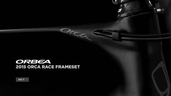 2015 Orbea Orca Race Frameset