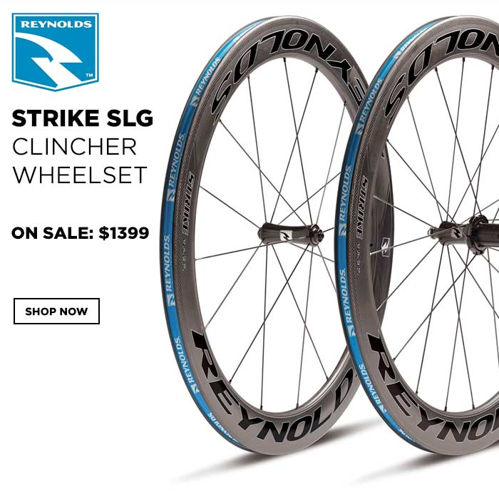 Reynolds Strike SLG Clincher Wheelset