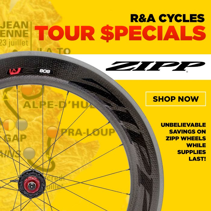 Tour de France sale - Zipp Wheels